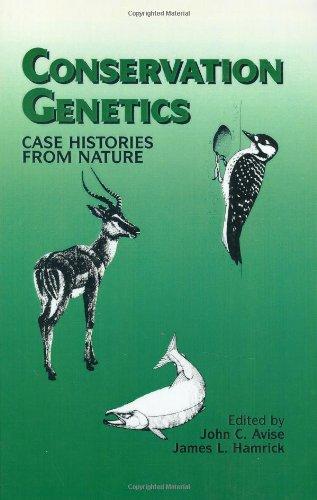 Conservation Genetics: Case Histories from Nature: Avise, J. C., Hamrick, J. L.