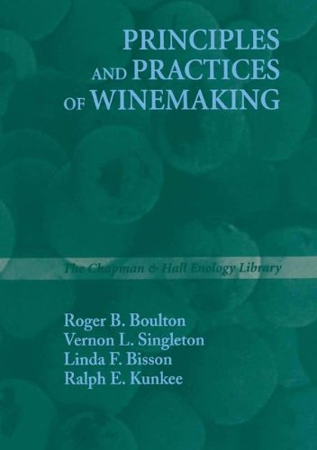 9780412064111: Principles and Practices of Winemaking (The Chapman & Hall Enology Library)