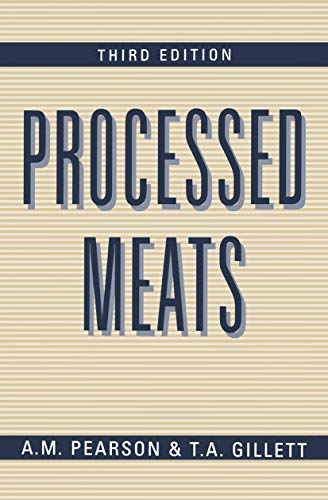 9780412064418: Processed Meats