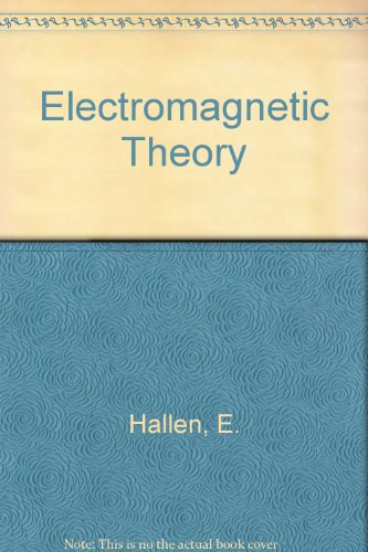 9780412065200: Electromagnetic Theory