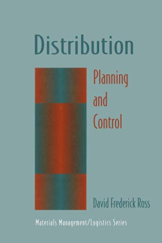 9780412065217: Distribution: Planning and Control (Chapman & Hall Materials Management/Logistics Series)
