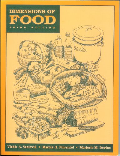 9780412067419: Dimensions of Food