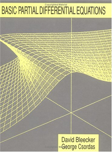 9780412067617: Basic Partial Differential Equations