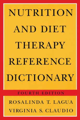 9780412070617: Nutrition And Diet Therapy Reference Dictionary - Fourth Edition