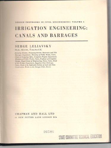 Design Textbooks in Civil Engineering : Volume: LELIAVSKY, SERGE