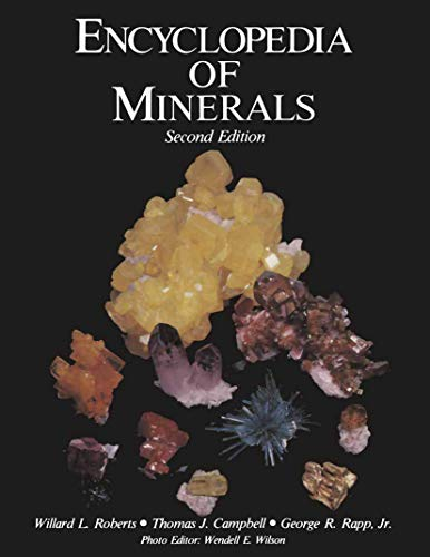 9780412078316: Encyclopedia of Minerals