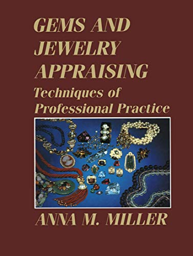 9780412078415: Gems and Jewelry Appraising: Techniques of Professional Practice