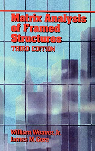 9780412078613: Matrix Analysis of Framed Structures