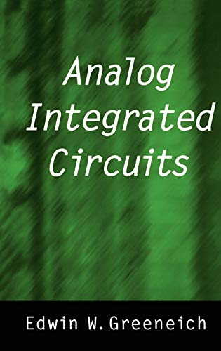 9780412085215: Analog Integrated Circuits (Solid State Science and Engineering Series)