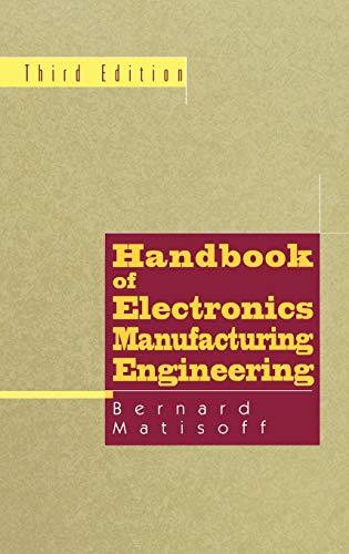9780412086113: Handbook of Electronics Manufacturing Engineering