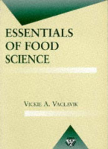 9780412086915: Essentials of Food Science (Food Science Text Series)