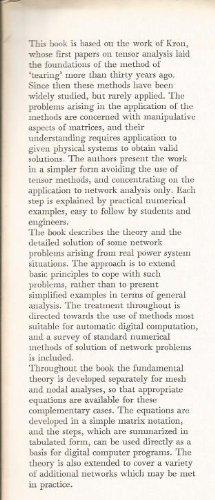 Practical Diakoptics for Electrical Networks (Advanced Engineering): Brameller, A; etc.