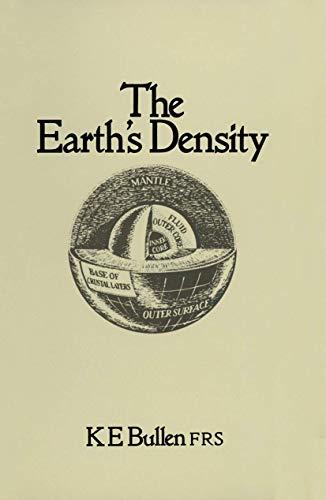9780412108600: The Earth's Density