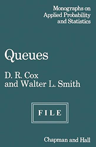 9780412109300: Queues (Monographs on Statistical Subjects)