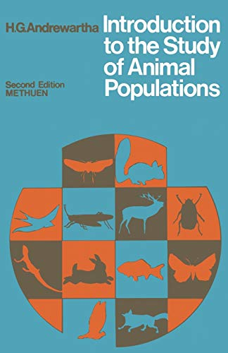 9780412110207: Introduction to the Study of Animal Populations