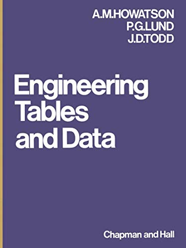 9780412115509: Engineering Tables and Data