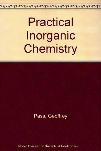 9780412126901: Practical Inorganic Chemistry