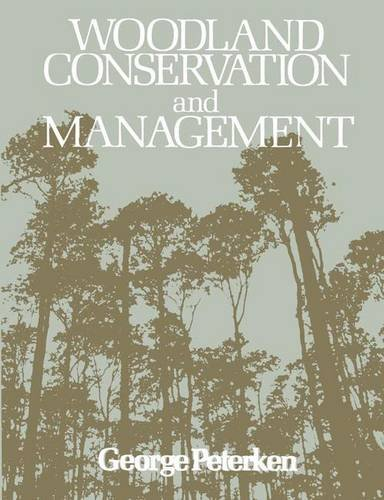 9780412128202: Woodland Conservation and Management