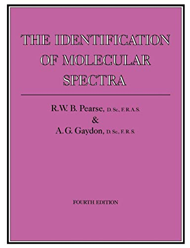 9780412143502: Identification of Molecular Spectra