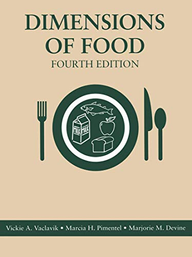 9780412147319: Dimensions of Food