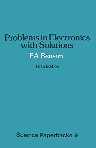 9780412147708: Problems in Electronics with Solutions (Studies in Chemical Physics)