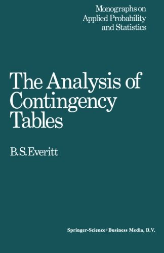 9780412149702: Analysis Contigency Tables