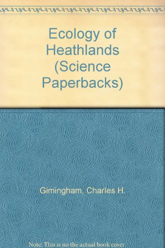 9780412149801: Ecology of Heathlands (Science Paperbacks)