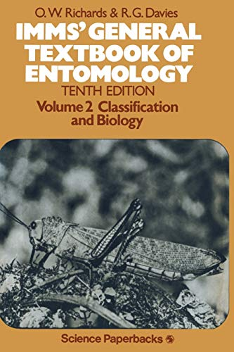 Imm's General Textbook of Entomology Vol. 2