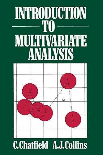 9780412160301: Introduction to Multivariate Analysis (Science Paperbacks)
