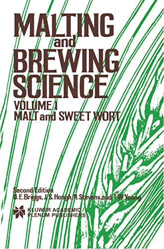 9780412165801: Malting and Brewing Science: Malt and Sweet Wort, Volume 1: Malt and Sweet Wort v. 1
