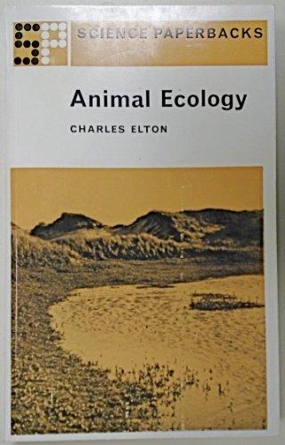 9780412200809: Animal Ecology (Science Paperbacks)