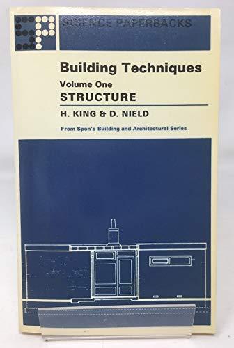 9780412202209: Building Techniques: v. 1 (Science Paperbacks)