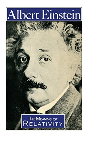 9780412205606: The Meaning of Relativity (Science Paperbacks)