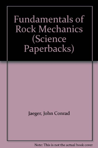 9780412208201: Fundamentals of Rock Mechanics (Science Paperbacks)