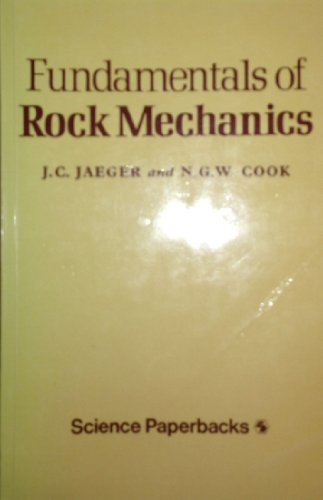 9780412214103: Fundamentals of Rock Mechanics (Science Paperbacks)