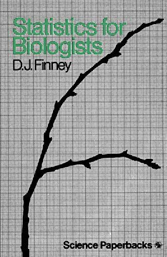 9780412215407: Statistics for Biologists (Science Paperbacks; 162)