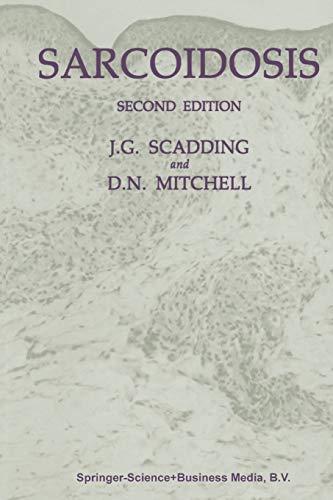 9780412217609: Sarcoidosis