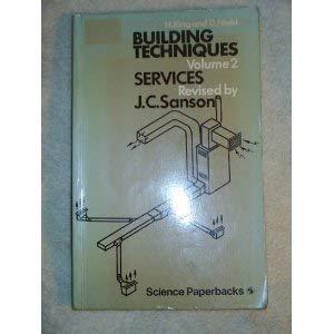 9780412217807: BUILDING TECHNIQUES V2 PB (Revised by J. C. Sanson)
