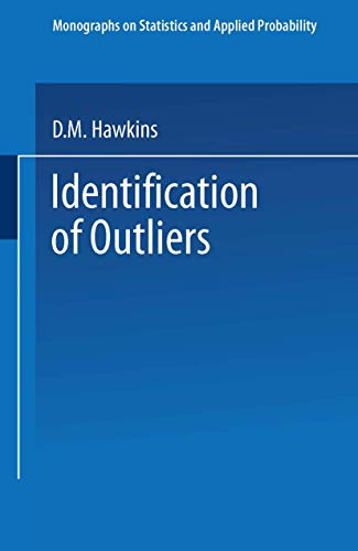 9780412219009: Identification of Outliers (Monographs on Statistics and Applied Probability)