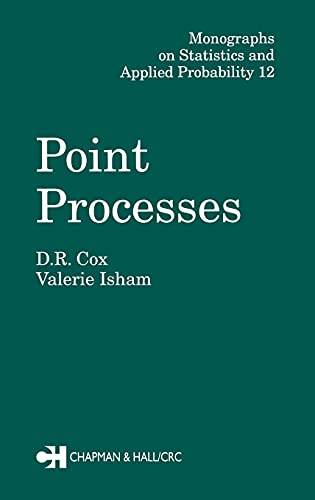 9780412219108: Point Processes (Chapman & Hall/CRC Monographs on Statistics & Applied Probability)