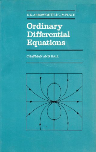 9780412226106: Ordinary Differential Equations