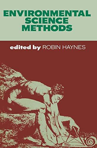 9780412232800: Environmental Science Methods