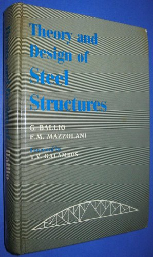 9780412236600: Theory and Design of Steel Structures