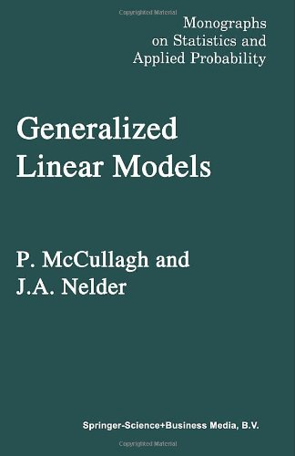 9780412238505: Generalized Linear Models (Monographs on Statistics and Applied Probability)