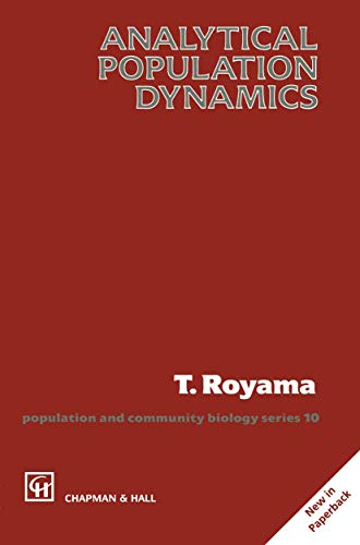 9780412243202: Analytical Population Dynamics (Population and Community Biology Series)