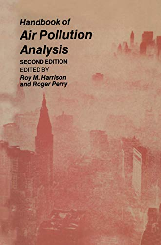 Handbook of Air Pollution Analysis: Roger Perry, Roy M. Harrison