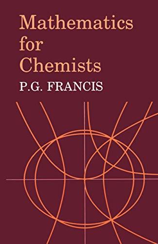 9780412249808: Mathematics for Chemists