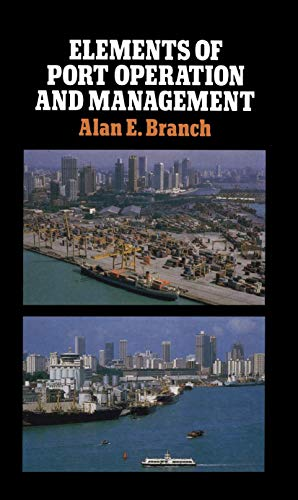9780412252501: Elements of Port Operation and Management