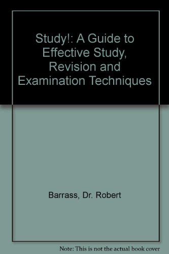 9780412256806: STUDY!: GUIDE EFFECTIVE STUDY CL