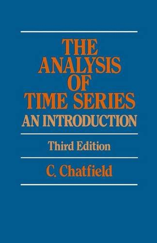 9780412260308: Analysis of Time Series: An Introduction